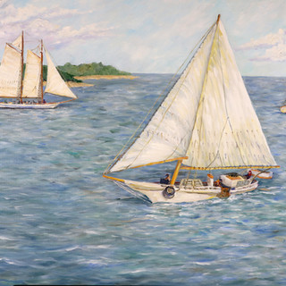 Skipjacks on the Chesapeake