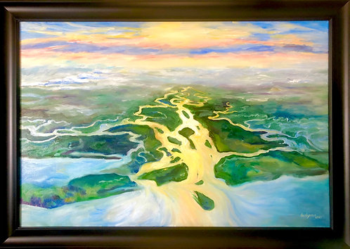 Plane Air: Altamaha River Glow