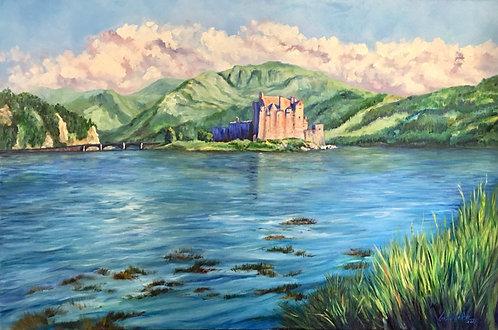 Eilean Donan Castle, Loch View