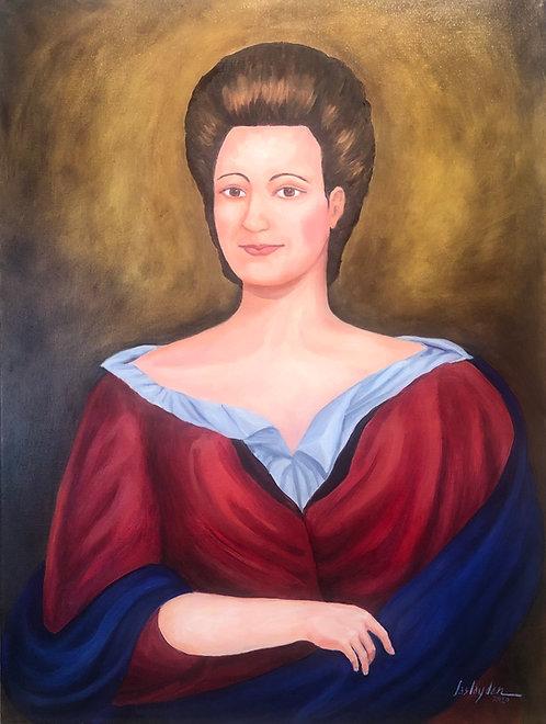 Portrait of Eleanor Hatton Brooke Darnall