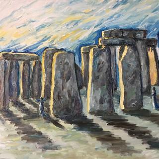Stonehenge at Solstice (3D)