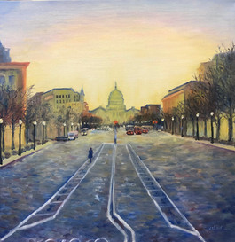 Capitol Hill at Dawn