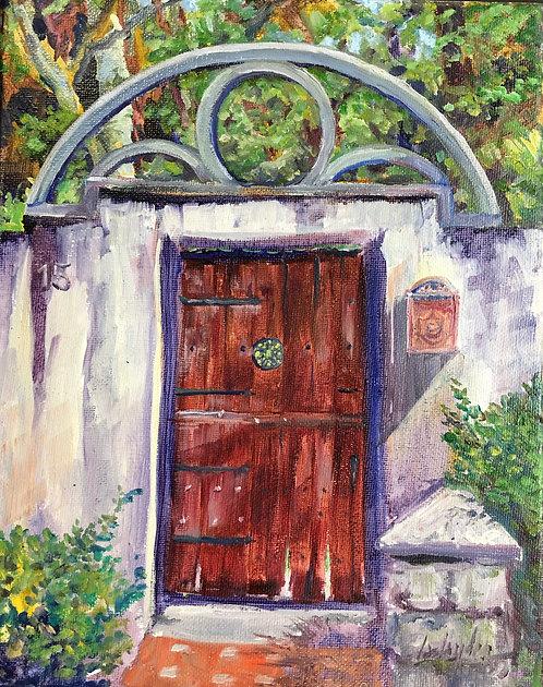 St. Augustine Gate #15