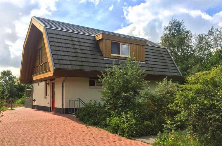 een ECO logies op Texel