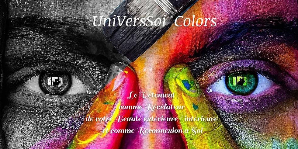 """Atelier  """"Le test des rayonnements ou couleurs"""" avec Natacha Montarou"""