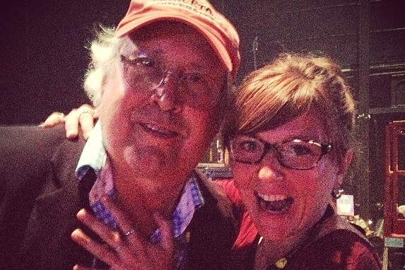Chevy Chase & Me