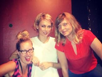 CHRISTINA WALKINSHAW, ILIZA SHLESINGER & ME