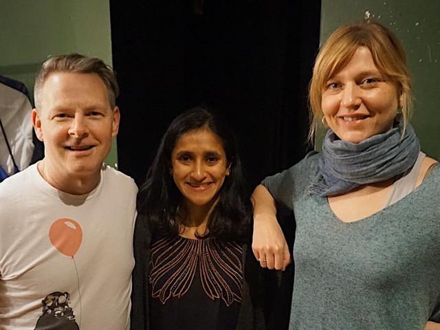 Terry McGuirrin, Aparna Nancherla & Me