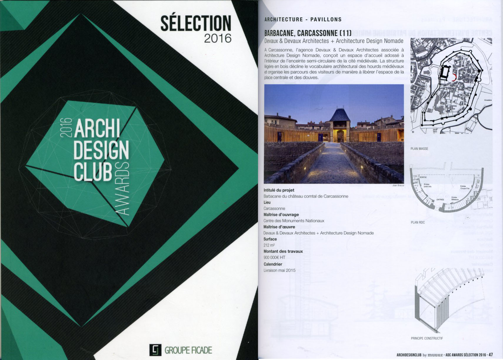 ArchiDesignclub Selection 2016