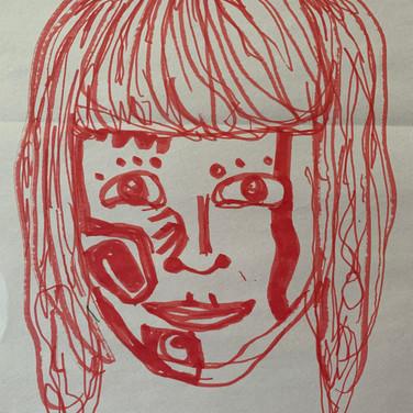 Abriel Gardner, Angelica Portrait 1, Advanced Studio Zoom, Apr. 27, 2020