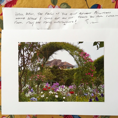 "Meridith McNeal, ""Note from my Great Aunt Anna Mae"", 2020, photograph"