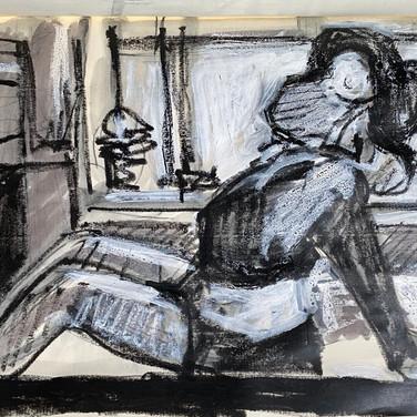 Marie Roberts, Advanced Studio May 18, Pose 3
