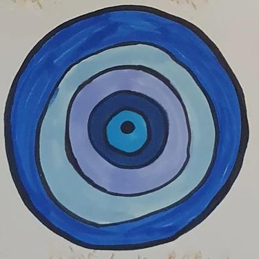 Sarah Gumgumji, Protective Eye Drawing