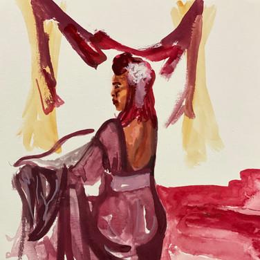 Fatima Traore, Advanced Studio May 18, Pose 2