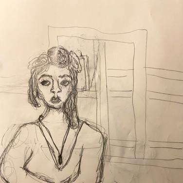 Sigrid Dolan, Advanced Studio May 18, Pose 1