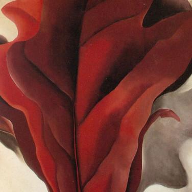 Georgia O'Keeffe sample painting 2