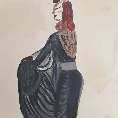 Sarah Gumgumji, , Advanced Studio May 18, Pose 2