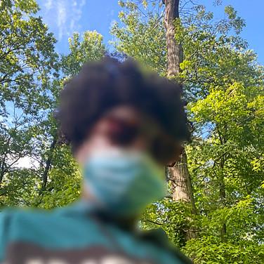 Fatima Traore, Quarantine Walk, May 2020
