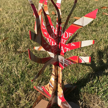 Marilyn August, Tree of Knowlege cardboard version
