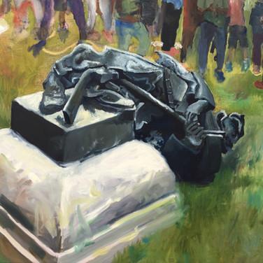 Celeste Dupuy-Spencer, Durham, August 14, 2017, (After Charlottesville)
