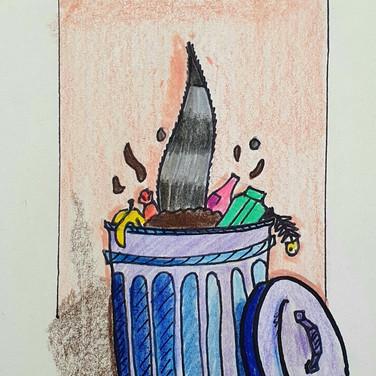 Sarah Gumgumji, Ecology and Garbage
