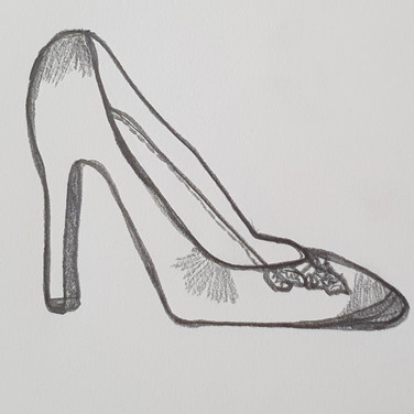 Sarah Gumgumji, Contour Shoe, Advanced Studio Zoom May 4, 2020
