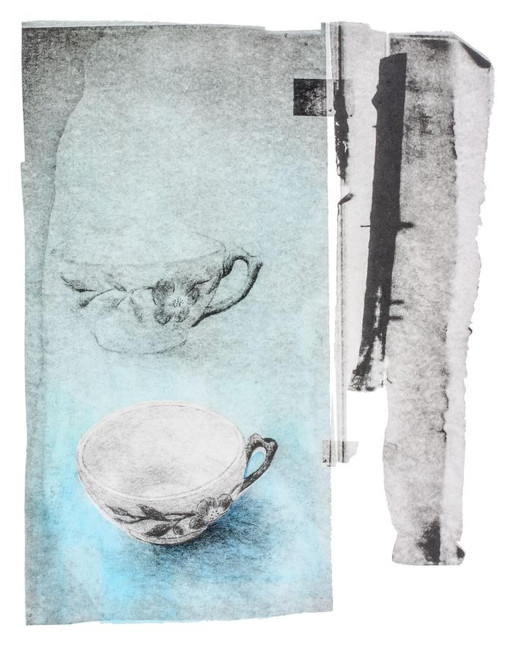 """Susan Dunkerley Maguire, Let it Spill, 2003, Lithograph, 12.25x9.5"""""""