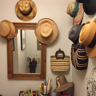 Pamela Talese, Straw Hats and Fans ready for Warm Weather, May 2020
