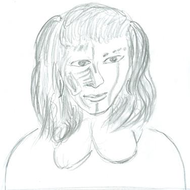 Ed Rath, Angelica Portrait 1, Advanced Studio Zoom, Apr. 27, 2020