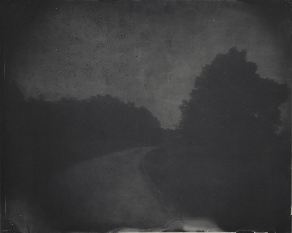 "Through a labor-intensive, nineteenth-century photographic process, she evokes the dark atmosphere of the Civil War that lies buried in the contemporary landscape. Her photographs collapse past and present, as the artist, in her own words, aims to ""help people see the landscape in a different way."""