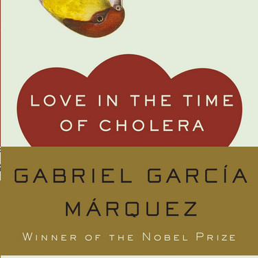Bookcover Love in the Time of Cholera, photograph Marie to all