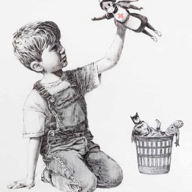"Banksy, ""Game Changer"""