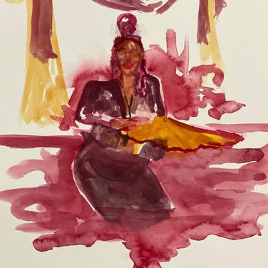 Fatima Traore, Advanced Studio May 18, Pose 1