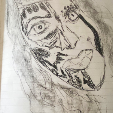 Assata Benoit, Angelica Portrait 1, Advanced Studio Zoom, Apr. 27, 2020