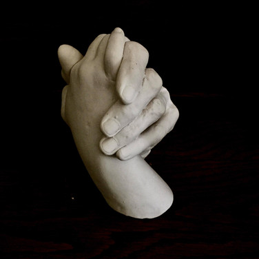 """Louisa Marr, """"Clasped Hands"""""""