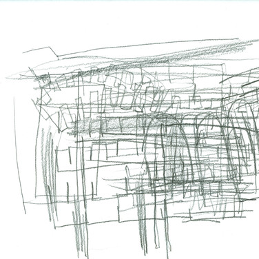 Ed Rath, Blind Contour Room, Advanced Studio Zoom May 4, 2020