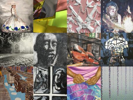 Curating, Drawing, Sharing and Talking