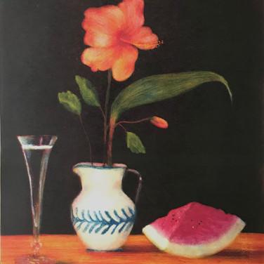 "Felix Plaza, ""Objetos Queridos: The Flower Hibiscus"""