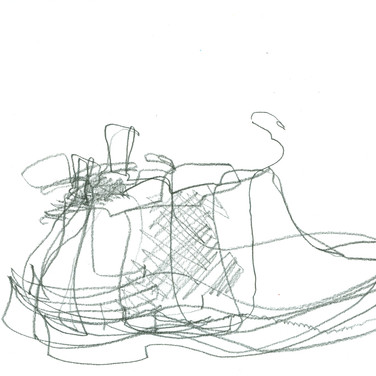 Ed Rath, Contour Shoe, Advanced Studio Zoom May 4, 2020