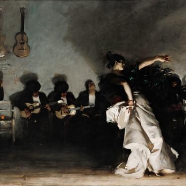 Image 3. (Painting) John Singer Sargent, El Jaleo, 1882