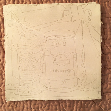 """Meridith McNeal """"Magical Things from Quarantine Food in the Cabinet (beginging sketch)"""