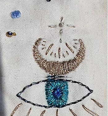 Sarah Gumgumji, Protectove Eye Embroidery