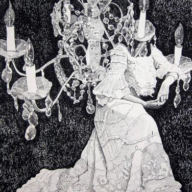 """Meridith McNeal, """"Signora della Casa Lace Dress"""""""