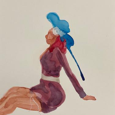 Fatima Traore, Advanced Studio May 18, Pose 3