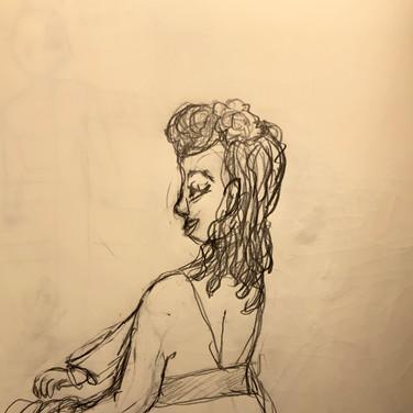 Sigrid Dolan, Advanced Studio May 18, Pose 2