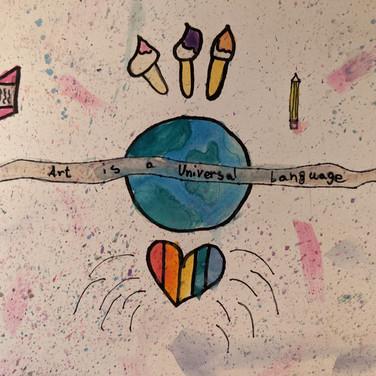 Jack Browkaw, Art Saves Lives