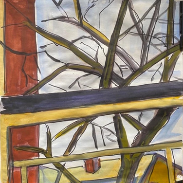 """Marie Roberts, """"From The Kitchen Window"""""""