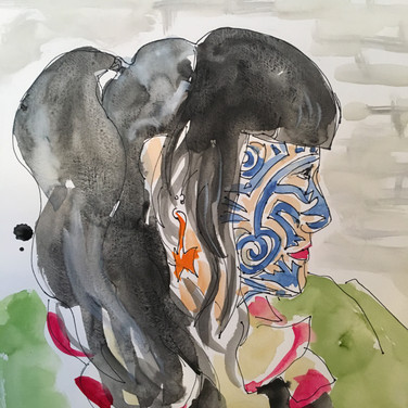 Meridith McNeal, Angelica Portrait 3, Advanced Studio Zoom, Apr. 27, 2020