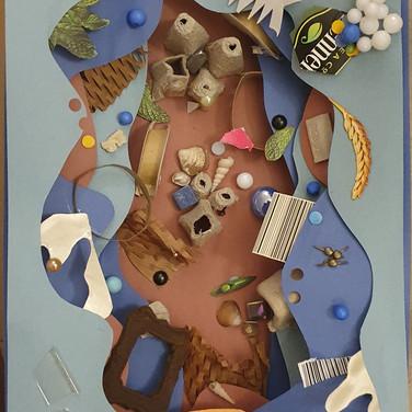 Sarah Gumgumji, Ecology and reform for use of Plastics, sculpture detail