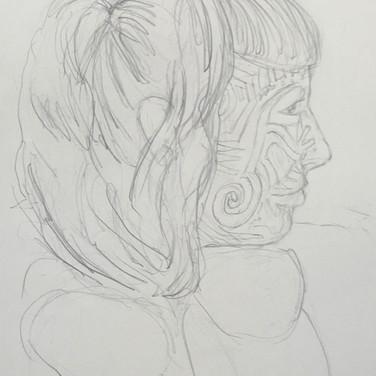 Jane Huntington, Angelica Portrait 3, Advanced Studio Zoom, Apr. 27, 2020